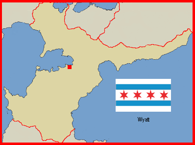 Location of Wyatt in Karsos Objective Republic