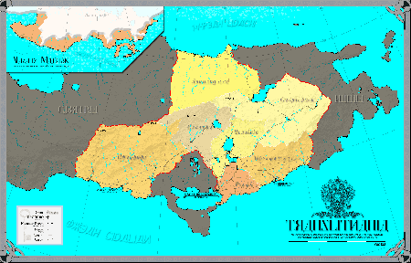 Administrative map of Translithania